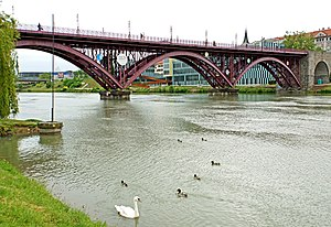 Old Bridge (Maribor) - Old Bridge in June 2013