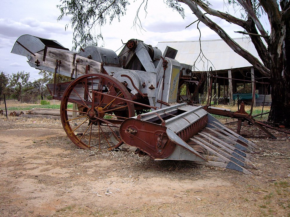 Old Style Harvester