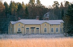 Old railway station Lieto Finland.jpg