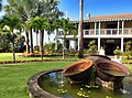 Old sugar cane kettles at the Nevis Botanical Gardens - panoramio (1).jpg
