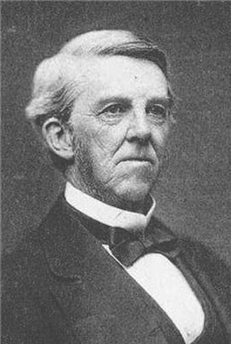 Saturday Club (Boston, Massachusetts) - Image: Oliver Wendell Holmes Portrait