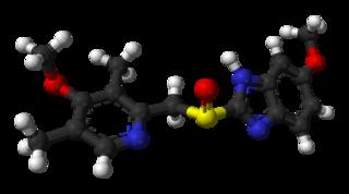Omeprazole proton-pump inhibitor