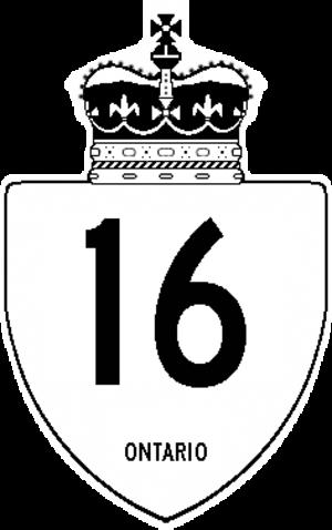 Ogdensburg–Prescott International Bridge - Image: Ontario 16