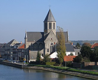 Oudenaarde - Image: Onze Lieve Vrouw van Pamele kerk 2