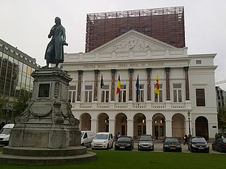 Opéra Royal de Wallonie - The building after the 2012 renovation.