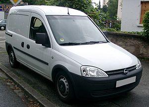 Opel Combo - Opel Combo (2001–2003)