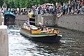Open rondvaartboot STILLE KRACHT uit 1917 bij de erfgoed manifestatie 2017 van de LVBHB in Hasselt (07).JPG