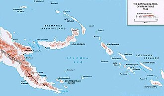 Battle of Wau - Papua, the eastern part of New Guinea, and the Solomon Islands