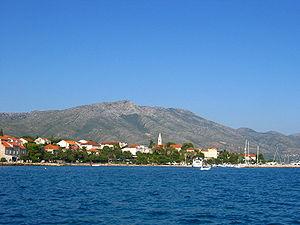 Orebić - Image: Orebic, Peljesac, Dalmatia, Croatia