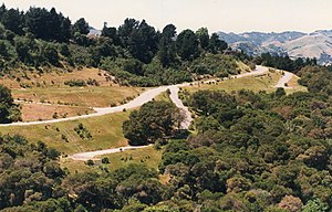 Orinda, California - The hills of Orinda