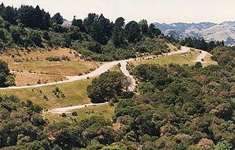 Orinda, California - The hills of Orinda
