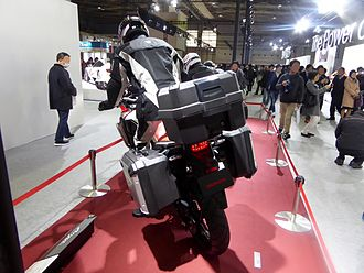 Honda Africa Twin - At the Osaka Motor Show in 2015