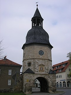 Bad Tennstedt Place in Thuringia, Germany