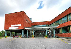 English: Aalto University Otaniemi Campus Libr...