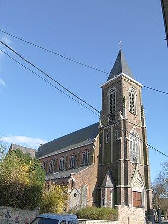 Awans - Image: Othée Eglise Saint Pierre et Paul