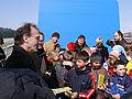 Ottmar Hörl Blaues Haus Kinder.jpg