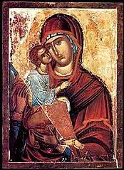 Акафистная Хиландарская икона Божией Матери