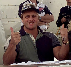 Owen Hart - Hart on May 15, 1999, eight days before his death