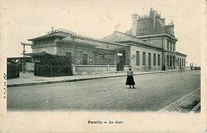 Pantin Station - Pantin station circa 1900