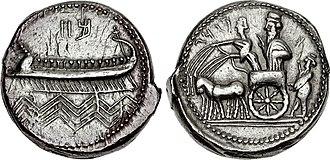 Mazaeus - Image: PHOENICIA, Sidon. Mazday (Mazaios). Circa 353 333 BC