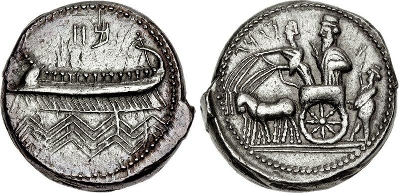 PHOENICIA, Sidon. Mazday (Mazaios). Circa 353-333 BC