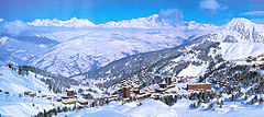La Plagne in winter