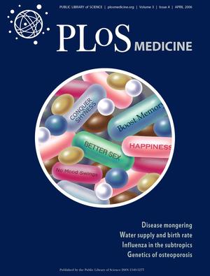 Disease mongering - Image: P Lo S Volume 3 Issue 4 April 2006