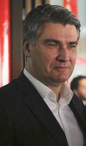 Zoran Milanović - Milanović in 2016