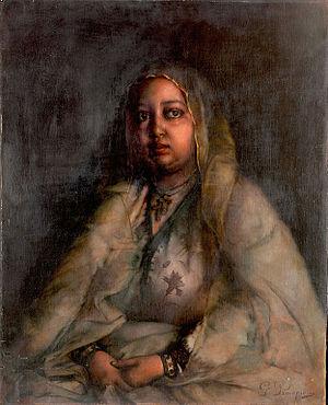 Taytu Betul - Portrait of the Empress by  Georgios Prokopiou (1905)