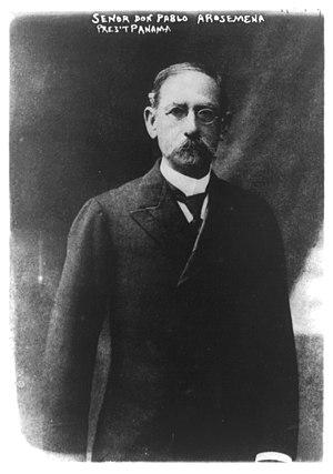 Pablo Arosemena - Pablo Arosemena, 1910