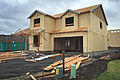 Pacific, WA — New house under construction — 01.jpg