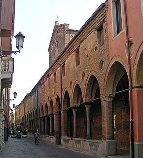building in Padua, Italy