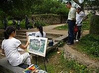 Painters Xingping town 20090502 6089.jpg
