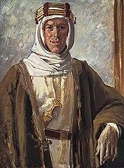 Portrait of Thomas Edward Lawrence - aka Lawrence of Arabia