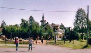 Pajala - Pajala Church, July 2004