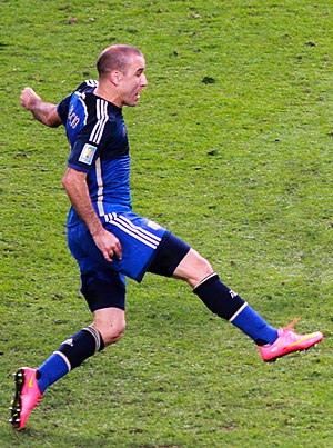 Rodrigo Palacio - Palacio with Argentina in 2014