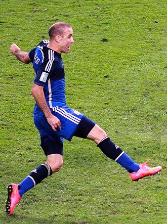 Rodrigo Palacio - Palacio with Argentina in 2014