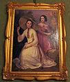 Palazzo corsini, appartamenti orientali, sala degli specchi, ritratti di famiglia 02.JPG