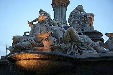 Pallas-Athene-Brunnen Wien - Elbe Moldau 2007.jpg