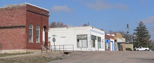 Palmyra, Nebraska downtown 1