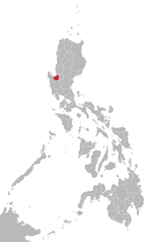 Pangasinan language map.png