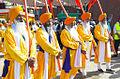 Panj Pyare, leading a procession.jpg