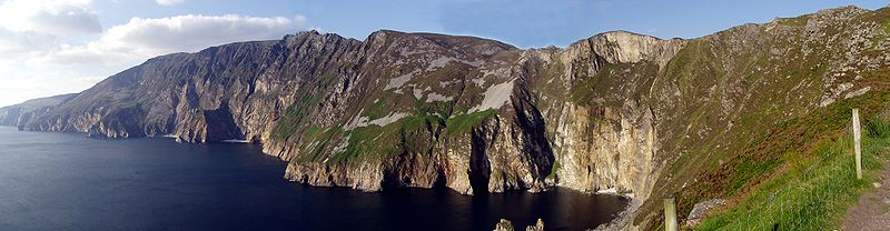 Overview of Slieve League
