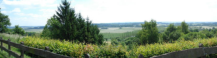 Panorama de Voncq (montage de 3 photos).