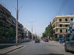 Papanastasiou avenue in Thessaloniki 3.jpg