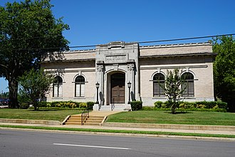 Paris, Texas - Paris Public Library in July 2015