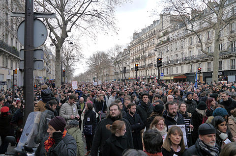 Paris Rally, 11 January 2015 - Boulevard Beaumarchais - 01.jpg