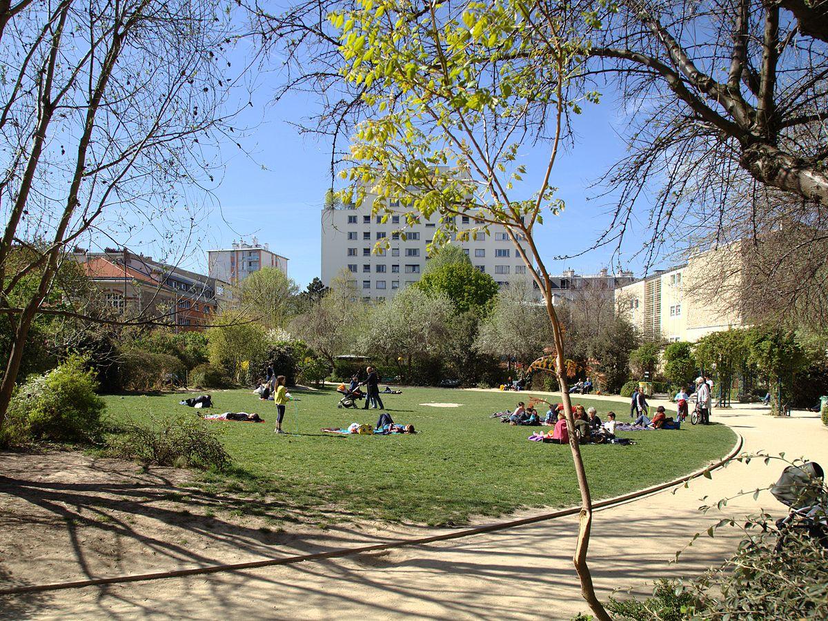 Jardin lionel assouad wikip dia for Jardin 122 rue des poissonniers
