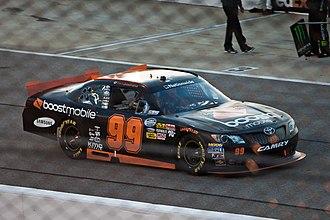 Boost Mobile - The Boost Mobile-sponsored NASCAR stock car of Travis Pastrana in 2012