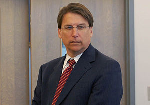 Pat McCrory - McCrory campaigning in 2008
